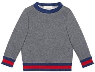 Gucci Kids Children's sweatshirt with Web