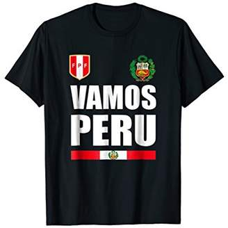 Peru Cheer Jersey 2018 - Arriba Peruvian Football T Shirt