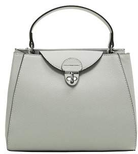 MANGO Safiano mini shopper bag