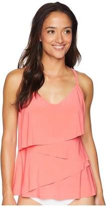 Magicsuit Solids Chloe Tankini Top Women's Swimwear