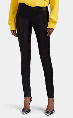 Helmut Lang Women's Leather Leggings - Black