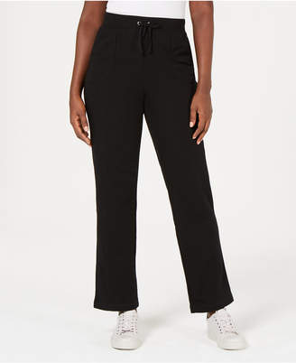 Karen Scott French Terry Pants