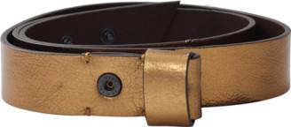 Lanvin Metallic Gold Belt