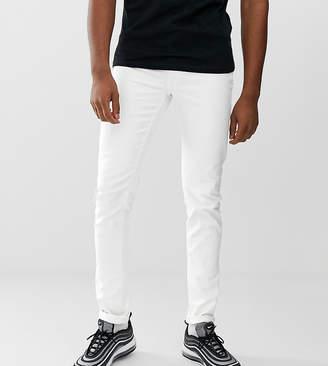 Asos Design DESIGN Tall skinny jeans in white