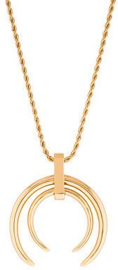 Rachel Zoe Dual Horn Pendant Necklace $75 thestylecure.com