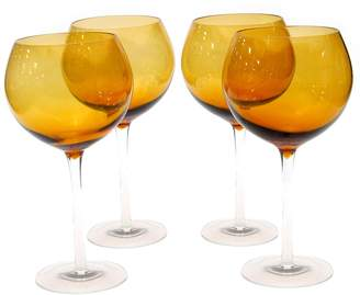 Certified International 4-pc. Red Wine Glass Set