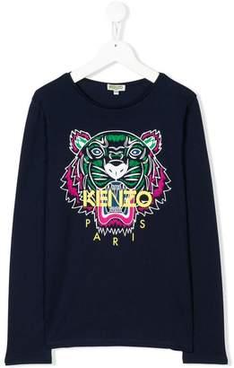 Kenzo TEEN Tiger long sleeve T-shirt