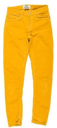 Acne Studios Corduroy Mid-Rise Pants