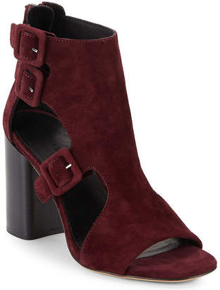Rag & Bone Nefer Leather Block-Heel Sandal