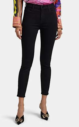 J Brand Women's Alana High-Rise Crop Skinny Jeans - Black