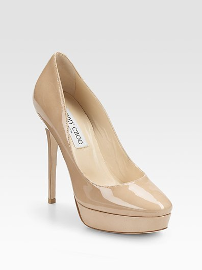 Jimmy Choo Cosmic Patent Leather Pumps