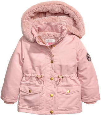 H&M Parka with Hood - Pink