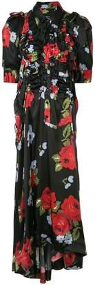 Simone Rocha ruffled floral dress