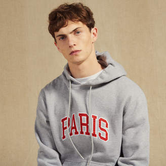 Sandro Hoodie with patch lettering
