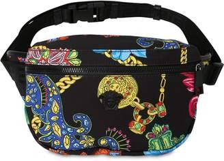 Versace Jeté Jewelry Printed Nylon Belt Bag