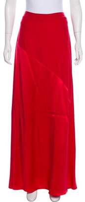 Calypso Silk Maxi Skirt