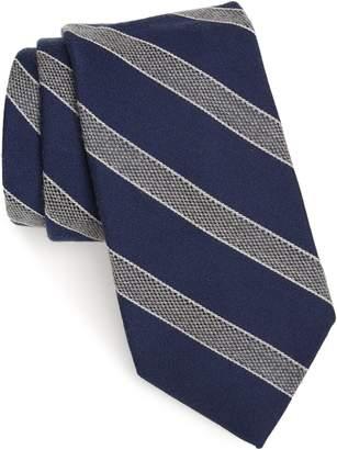 Nordstrom Urbina Stripe Wool & Silk Tie