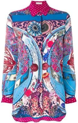 Etro multi-print blouse