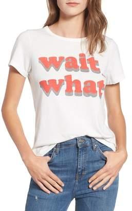 Junk Food Clothing Wait What Tee