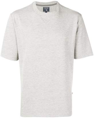 Woolrich ribbed detailed T-shirt