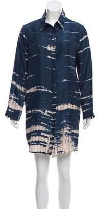 Roberta Freymann Silk Mini Dress