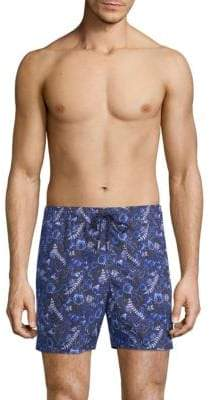 Jared Lang Printed Swim Shorts