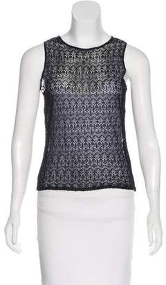 Ralph Lauren Purple Label Sleeveless Knit Top