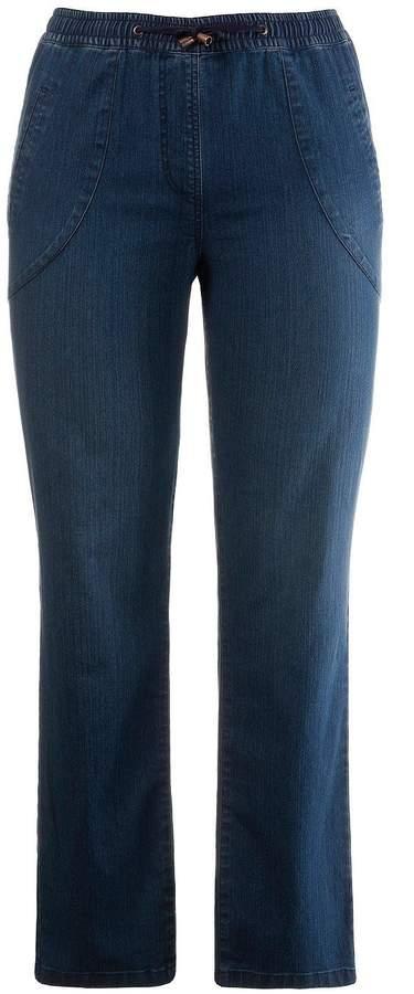 Komfort Jeans mit Tunnelzug, K dark denim NEU