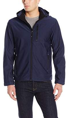 32 Degrees Men's Hooded Micro Stretch Jacket with Chest Pocket