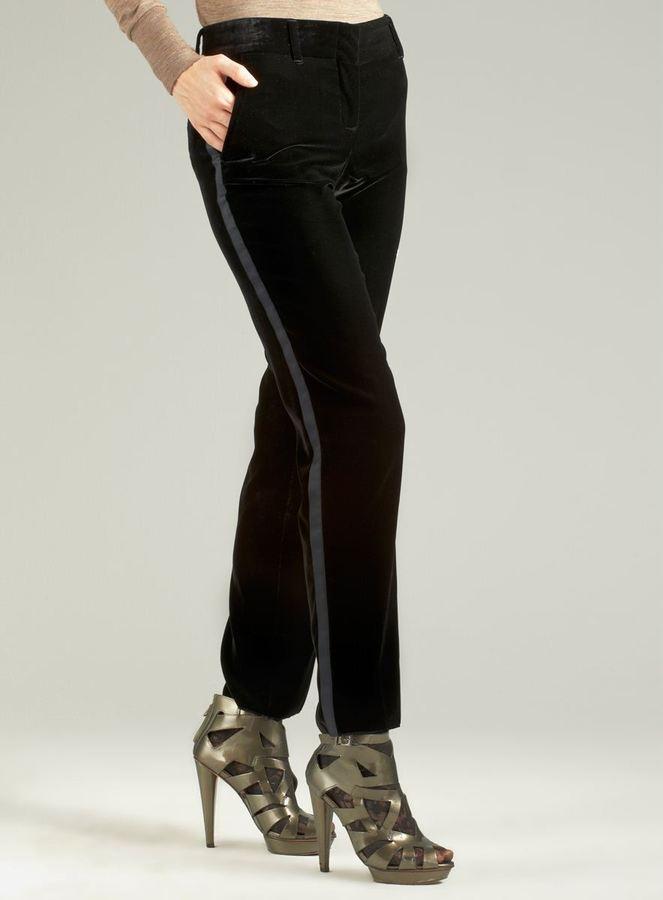 Dolce & Gabbana Velvet Tuxedo Pant