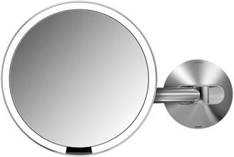 Simplehuman 8X Wall Mount Sensor Makeup Mirror