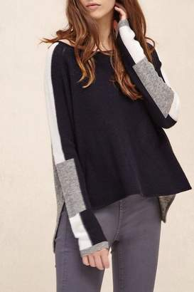 Charli Intarsia Wool Pullover
