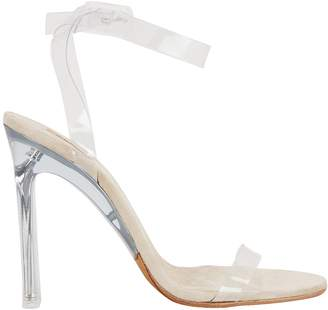 Yeezy Clear PVC Ankle Strap Sandals