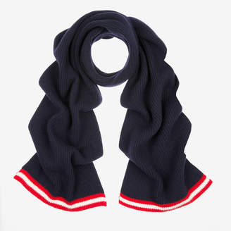 Bally Ribbed Wool Scarf