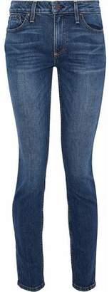 Alice + Olivia Ao.la By Good Studded Mid-Rise Skinny Jeans