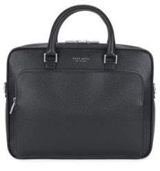 BOSS Hugo 'Signature Slim Doc' Palmellato Leather Bag One Size Black