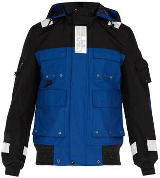 Junya Watanabe Reflective Nylon Jacket - Mens - Blue