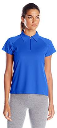 Champion Women's Double Dry Performance Polo $3.72 thestylecure.com