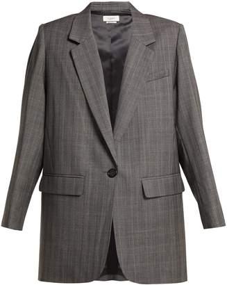 Etoile Isabel Marant Nerix single breasted wool blazer