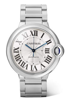 Cartier Ballon Bleu De 36.6mm Stainless Steel Watch - Silver