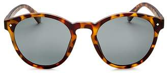Polaroid Polarized Round Sunglasses, 49mm