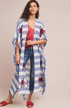 Anthropologie Rosie Striped Kimono
