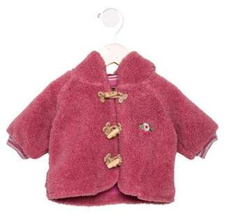 Oilily Girls' Faux Fur Toggle Coat pink Girls' Faux Fur Toggle Coat