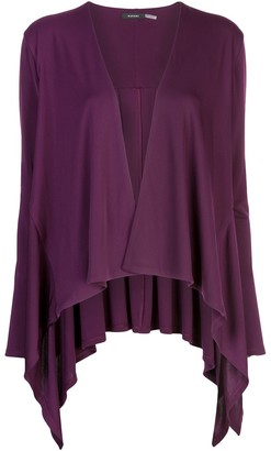 Natori draped Waterfall cardigan