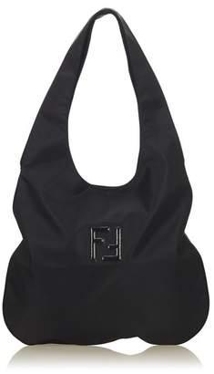 Fendi Vintage Nylon Hobo Bag