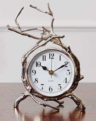Global Views Twig Nickel Clock