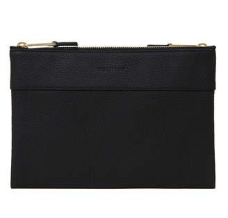 Volition Tony - Leather Men's Mini Bag Black