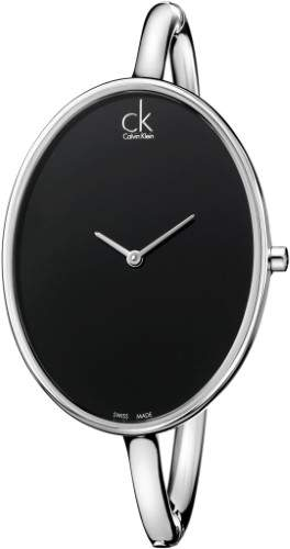 Calvin Klein K3D2M111 Silver/Black Analog Quartz Women's Watch