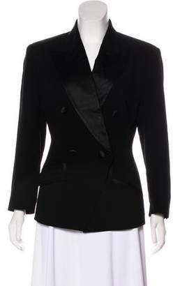 DKNY Double-Breasted Wool Blazer