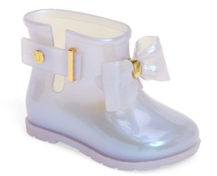 Toddler Girl's Mini Melissa 'Mini Sugar' Rain Boot $67.95 thestylecure.com